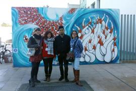 «Zon» y «L de Lú» ganadores del primer concurso de arte urbano contra la injusticia