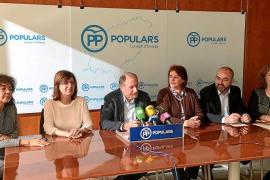 El Partido Popular critica que Vicent Torres «agache la cabeza» ante el Govern balear