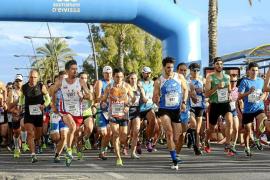Más de 800 atletas en la Pujada