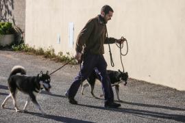 Nuevos espacios para los perros de sa Coma