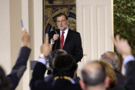 Rajoy afirma que quiere agotar la legislatura