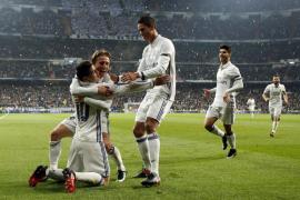 James vuelve a reivindicarse y el Madrid pone un pie en cuartos de final de la Copa del Rey