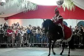 Todo preparado para la llegada de los Reyes Magos en Sant Antoni