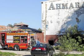 Incendio 'okupa' en el Club Ahmara