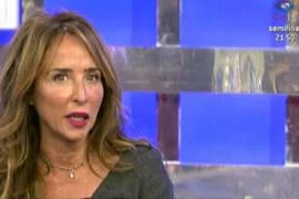 María Patiño, destrozada por la muerte de su padre