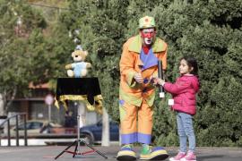 Cabalgata de Reyes en el barrio de es Clot