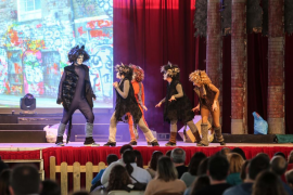 El musical 'El rey de la sabana' cosecha un gran éxito en Ibiza