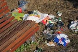 Sant Antoni interpone 13 denuncias por botellón y tres por tenencia de drogas en la fiesta Flower