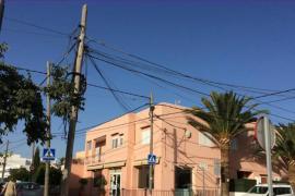 Santa Eulària destina 322.000 euros a soterrar cables en Puig d'en Valls