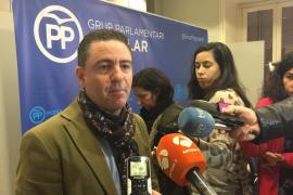 El PP pedirá informes para garantizar que la destitución de Huertas se ajusta al Reglamento