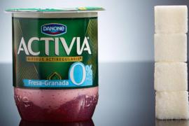 Imágenes que muestran el azúcar oculto en los alimentos