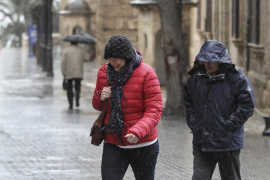 El sábado llega una masa de aire polar a Baleares