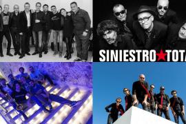 Blues, pop y rock en Jacint Verdaguer en un Sant Sebastià 2017 con Dos Pájaros a Tiro y Siniestro Total