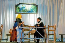 'Els mijorals de Don Marianu', a escena