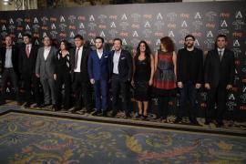 Los nominados a los Premios Goya calientan motores en el Ritz