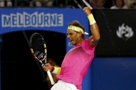 Rafa Nadal podría jugar en semifinales del Abierto de Australia con Djokovic