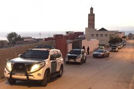 La Guardia Civil busca armas en una explanada de El Príncipe