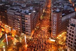 Miles de personas piden en Bilbao el fin de la dispersión de los presos de ETA