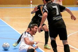 El Harinus Peña Deportiva hinca la rodilla ante el Santa Coloma B