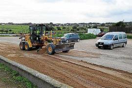 Formentera arregla los caminos y aparcamientos afectados por el último temporal de diciembre