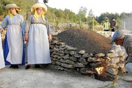 Santa Agnès, fiestas con 'sitja' y 'forn de calç'