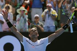 Convincente debut de Nadal ante el alemán Florian Mayer