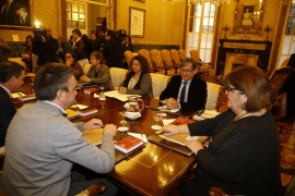 La Mesa del Parlament no se reanuda por la ausencia de Huertas y del PP