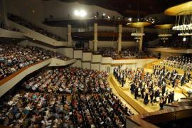 Arrestado por lanzar un objeto al escenario del Auditorio Nacional de Madrid y herir a un vigilante