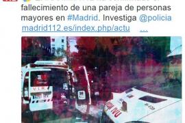 Un hombre mata a su mujer enferma de alzheimer en Madrid y se quita la vida