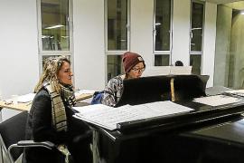 Docentes y alumnos van con estufas a clase en el Conservatorio por la falta de calefacción
