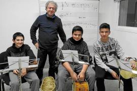 Música tradicional en la primera Cantada Pagesa de Formentera