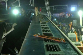 Al menos 29 fallecidos en la India tras el descarrilamiento de un tren