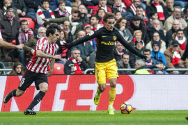 Griezmann, con un golazo, deja en tablas un vibrante partido entre Athletic y Atlético