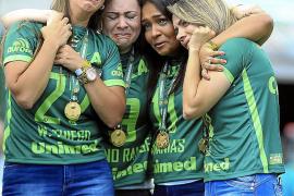 El Chapecoense vuelve a jugar tras el accidente aéreo