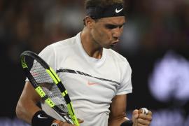 Rafa Nadal sella su pase a cuartos en Australia tras derrotar al francés Monfils
