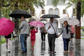 La lluvia registrada en Ibiza en enero es el doble de lo habitual