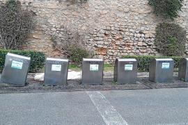 Una cuarta parte de los contenedores soterrados de Vila están fuera de servicio por desperfectos