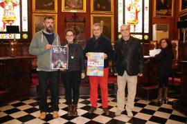 El cartel de Eduardo Yuste con el título «Es Born» gana el premio de sa Rua 2017