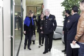 Presentación del nuevo comisario de la Policía Nacional de Ibiza