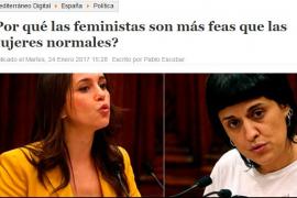 Un periódico 'online' califica a las feministas de feas y anormales