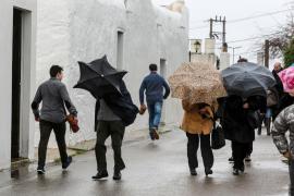 Fin de semana lluvioso, con tormentas ocasionales en Baleares