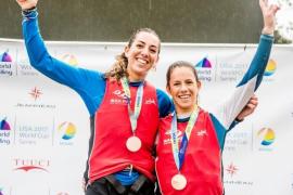 Barceló y Mas, bronce en la copa del mundo de vela en aguas de Miami
