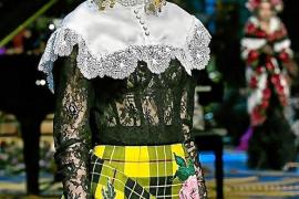 Dolce&Gabbana y Elisa Pomar, de nuevo juntos en un desfile en La Scala de Milán