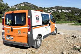 Sin rastro del pescador desaparecido en Cap Martinet tras tres días de búsqueda