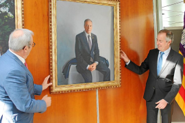 Vicent Serra, último retrato de la galería de expresidentes del Consell d'Eivissa
