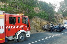 Detenido un conductor que dio positivo por cocaína tras provocar un grave accidente en Can Bernat