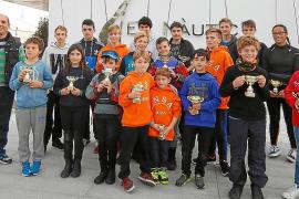 El CNSA domina en las regatas de Optimist en la bahía de Portmany