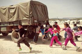 Formentera se vuelca con Siria