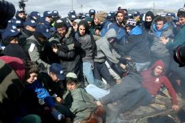 Diez heridos en disturbios por la evacuación de un asentamiento en Cisjordania