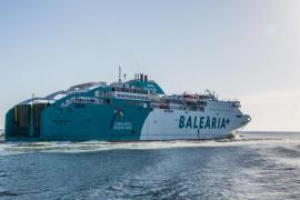 Baleària cuenta con dos nuevos ferries propulsados por gas natural